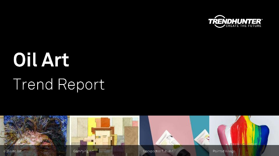 Oil Art Trend Report Research