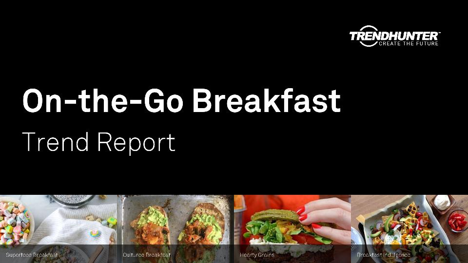 On-the-Go Breakfast Trend Report Research
