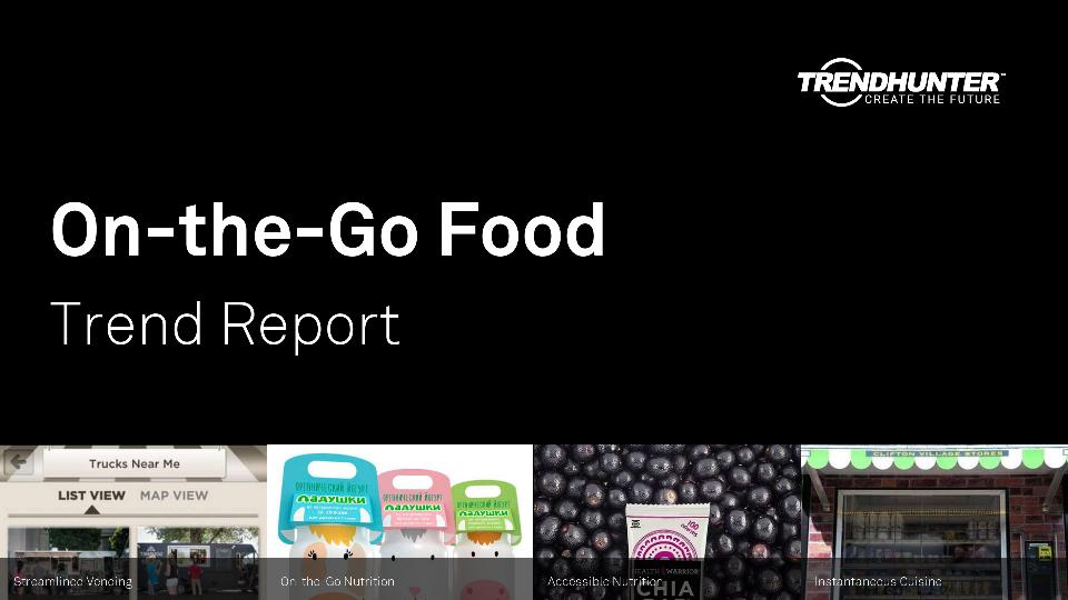 On-the-Go Food Trend Report Research
