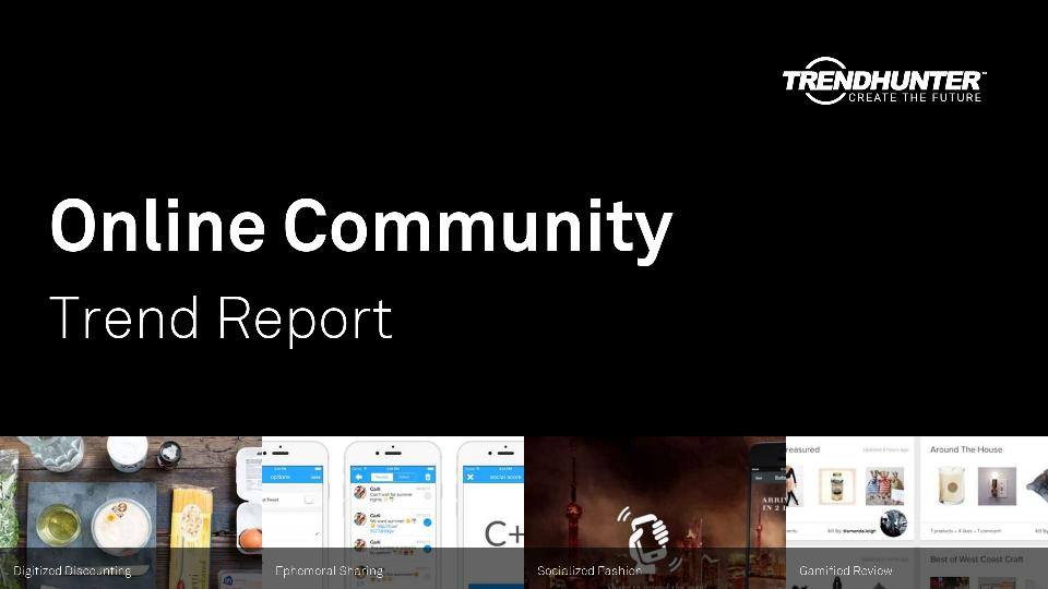 Online Community Trend Report Research