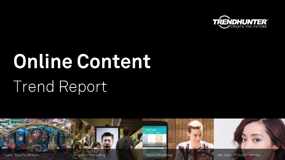 Online Content Trend Report Research