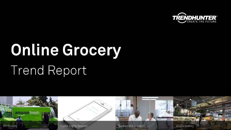 Online Grocery Trend Report Research