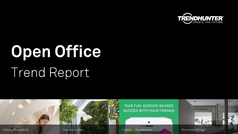 Open Office Trend Report Research