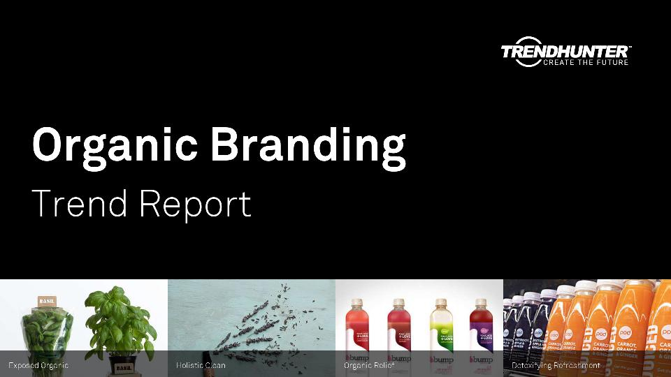 Organic Branding Trend Report Research