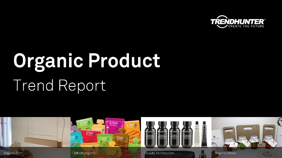 Organic Product Trend Report Research