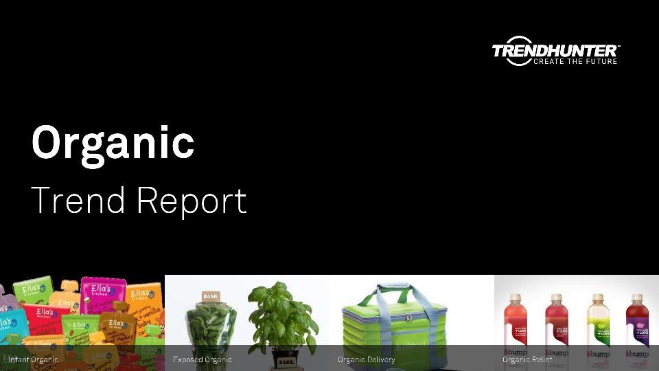 Organic Trend Report Research