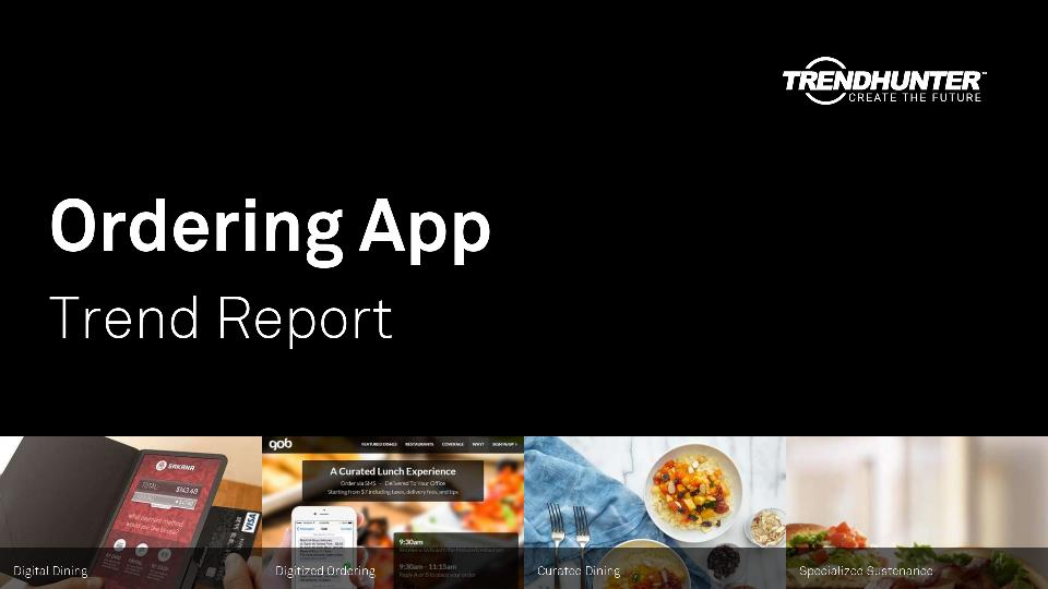 Ordering App Trend Report Research