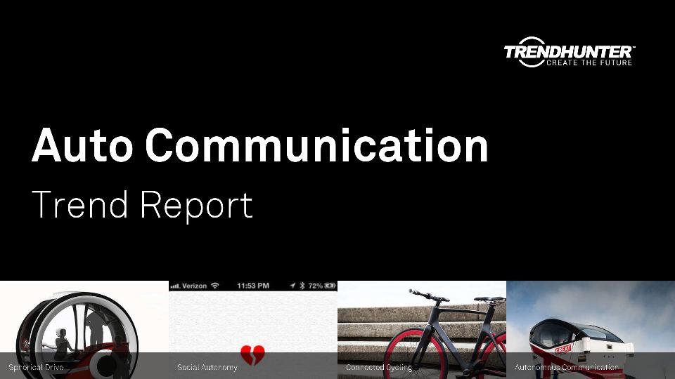 Auto Communication Trend Report Research