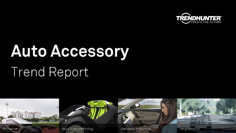 Auto Accessory Trend Report Research