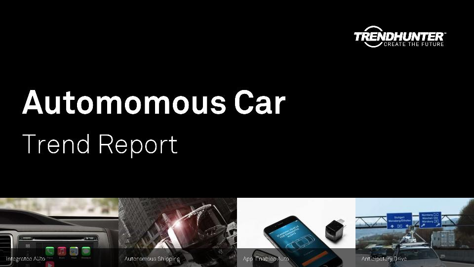 Automomous Car Trend Report Research