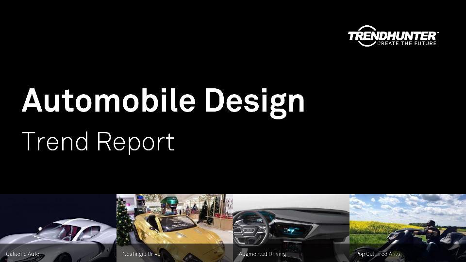 Automobile Design Trend Report Research