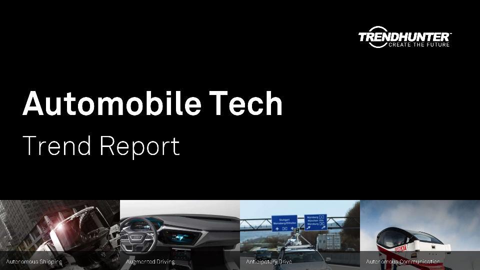 Automobile Tech Trend Report Research