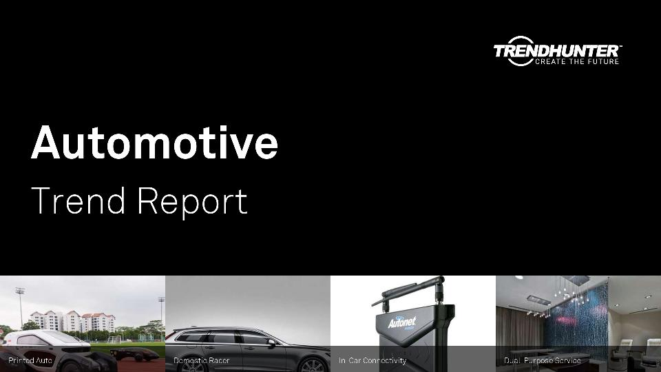 Automotive Trend Report Research