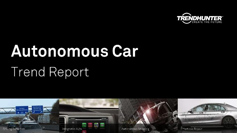 Autonomous Car Trend Report Research