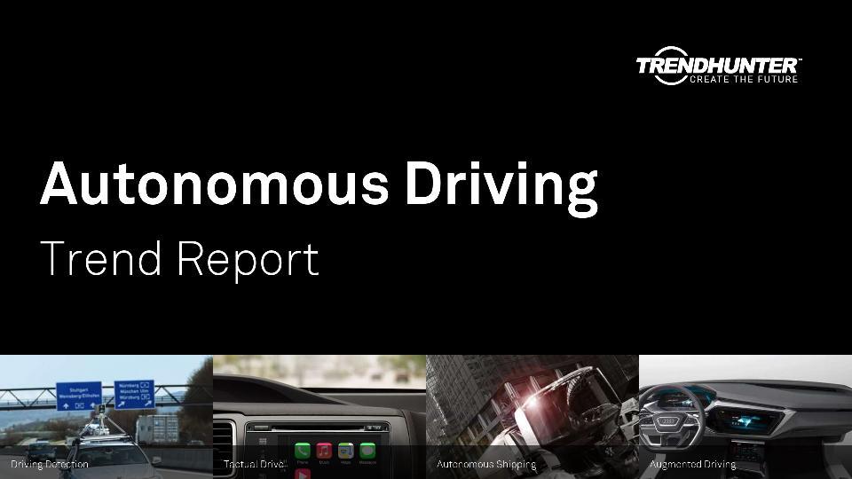 Autonomous Driving Trend Report Research