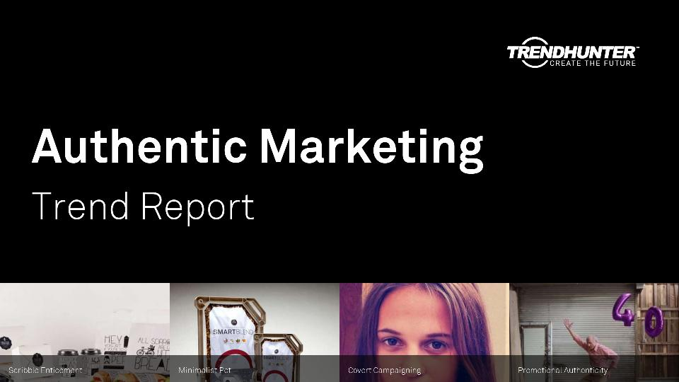 Authentic Marketing Trend Report Research