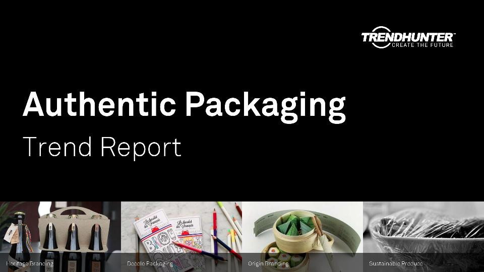 Authentic Packaging Trend Report Research