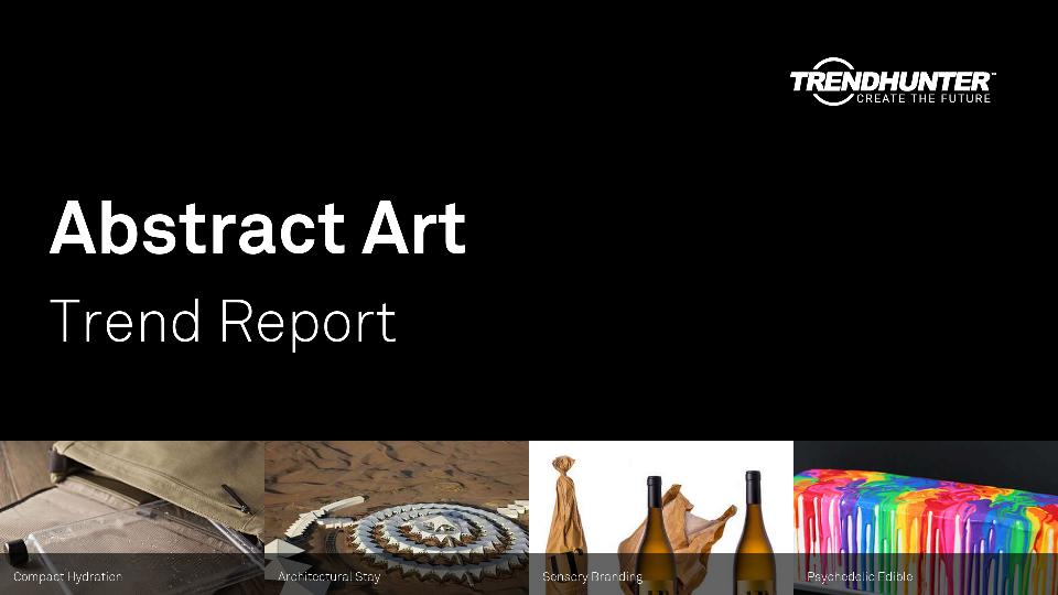 Abstract Art Trend Report Research