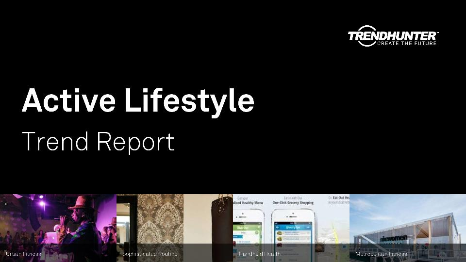 Active Lifestyle Trend Report Research