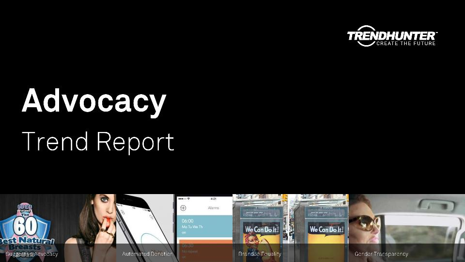 Advocacy Trend Report Research