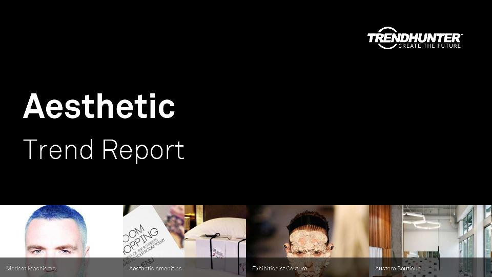 Aesthetic Trend Report Research