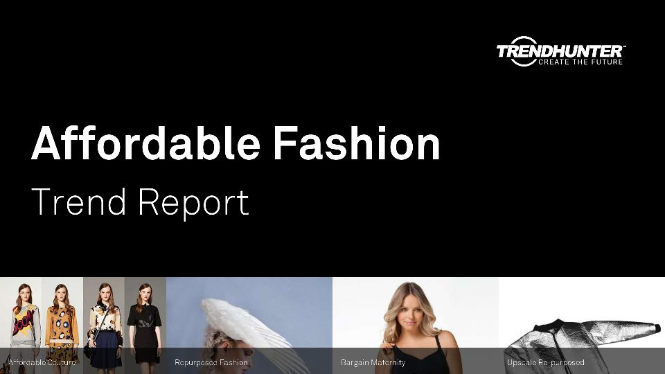 Affordable Fashion Trend Report Research