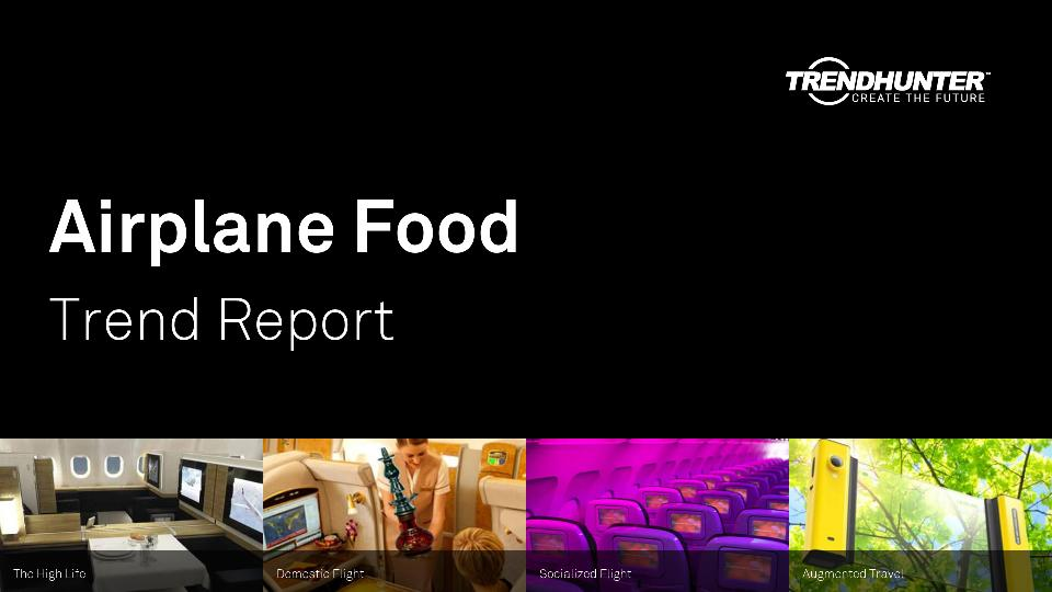 Airplane Food Trend Report Research