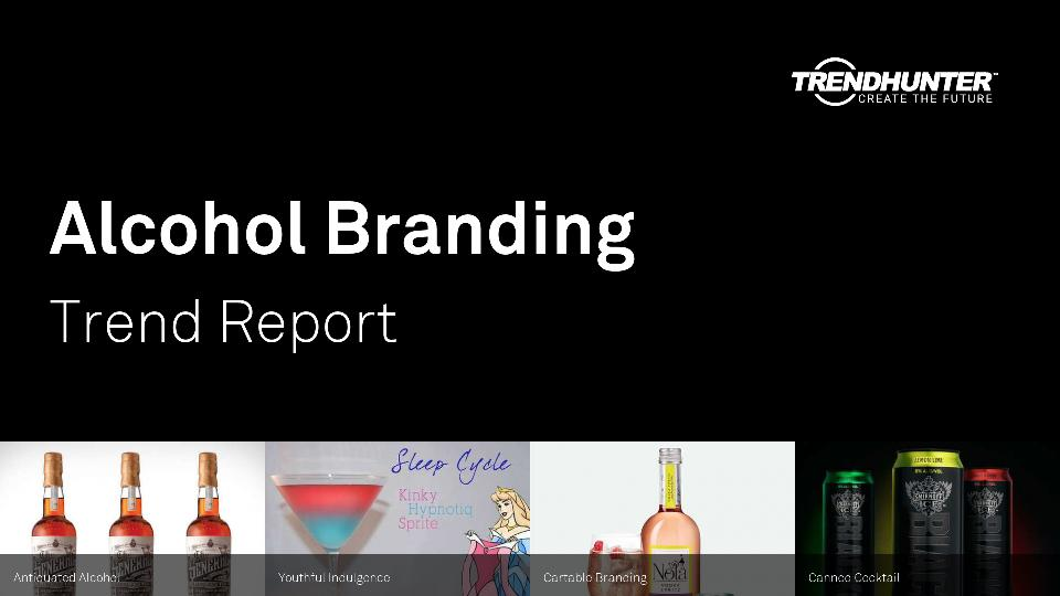Alcohol Branding Trend Report Research