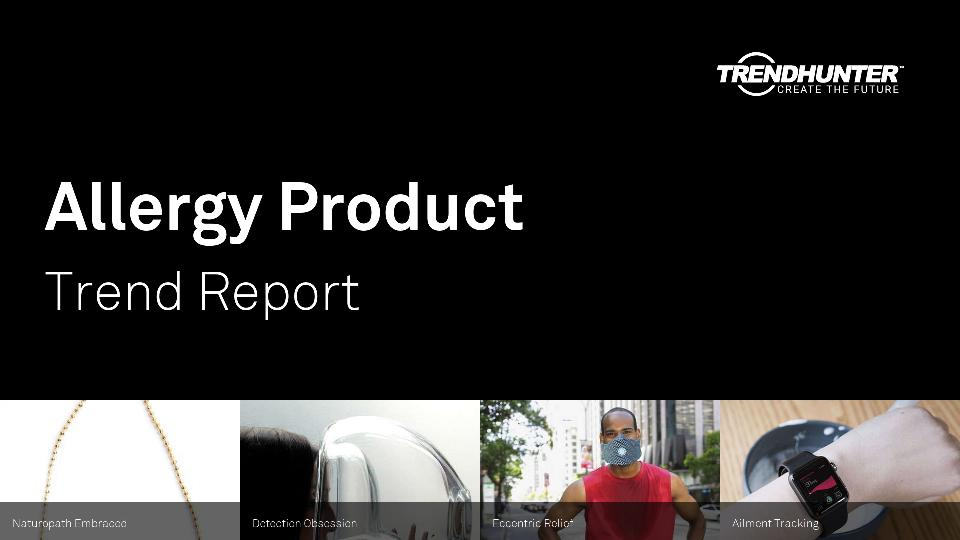 Allergy Product Trend Report Research
