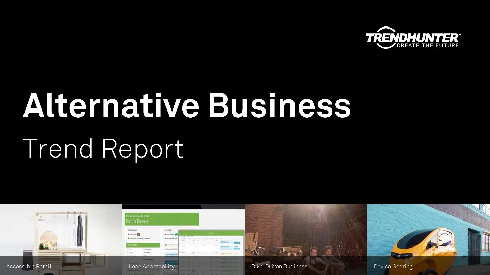 Alternative Business Trend Report Research