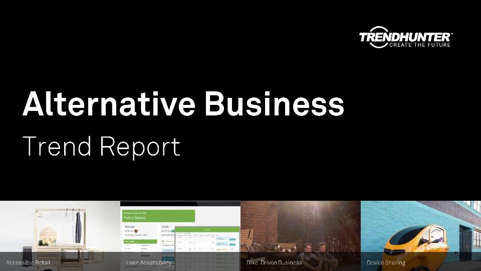 Alternative Business Trend Report Research