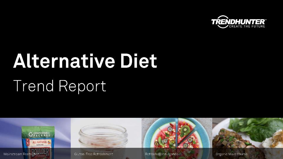Alternative Diet Trend Report Research