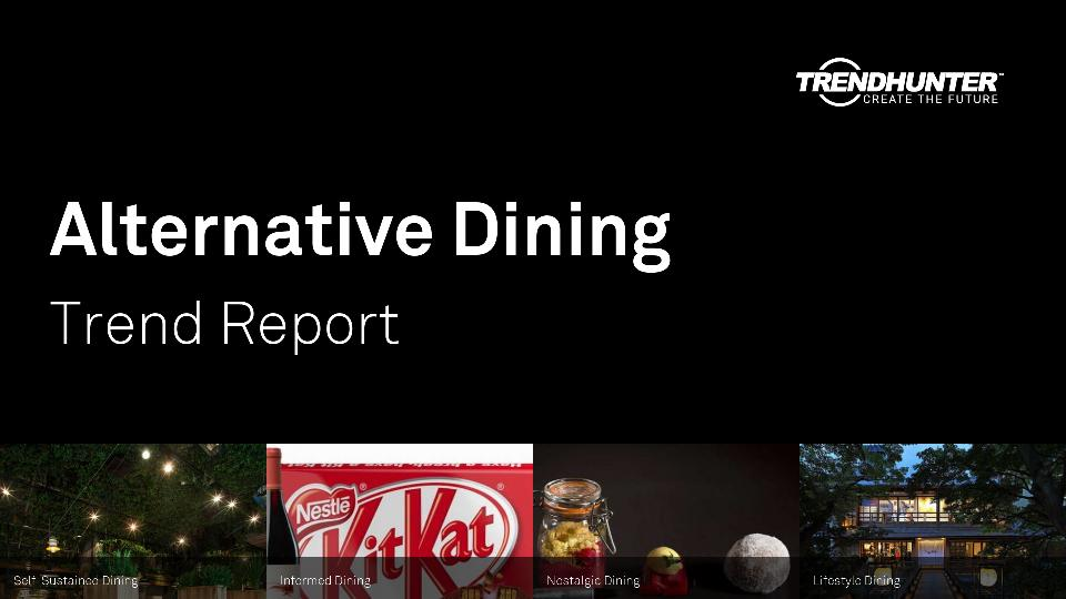 Alternative Dining Trend Report Research