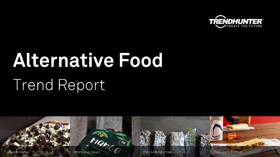 Alternative Food Trend Report Research