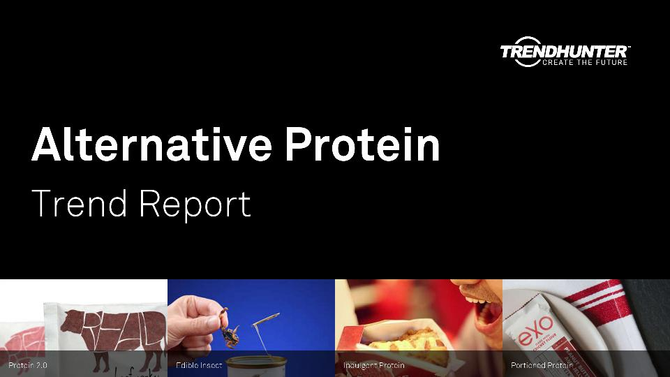 Alternative Protein Trend Report Research