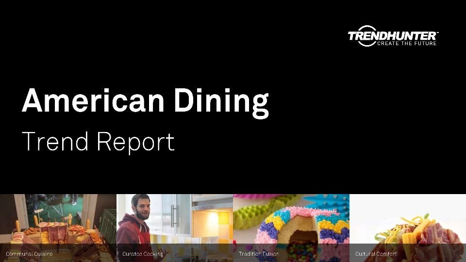 American Dining Trend Report Research