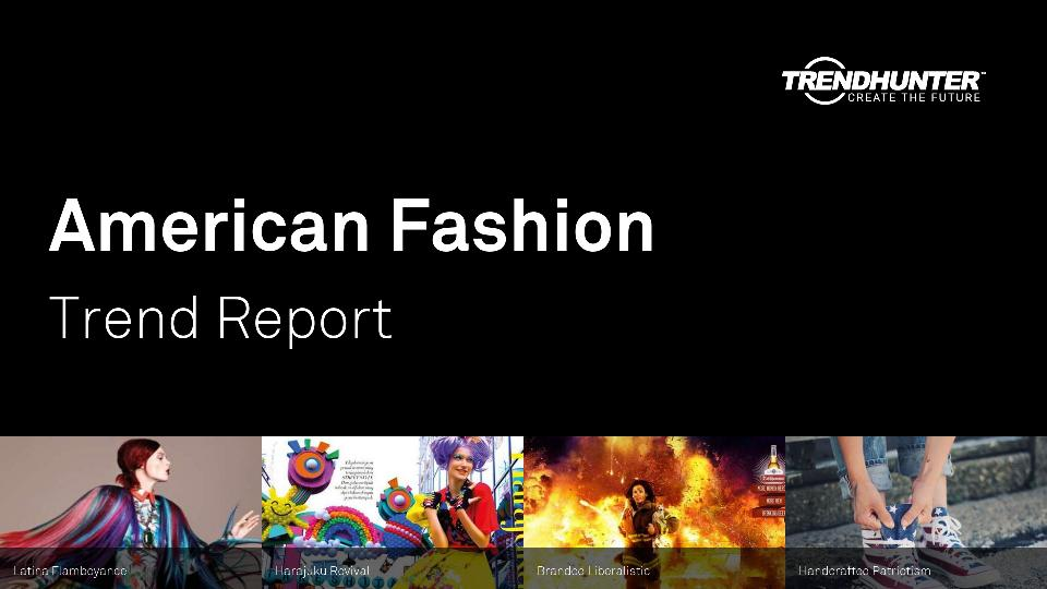 American Fashion Trend Report Research