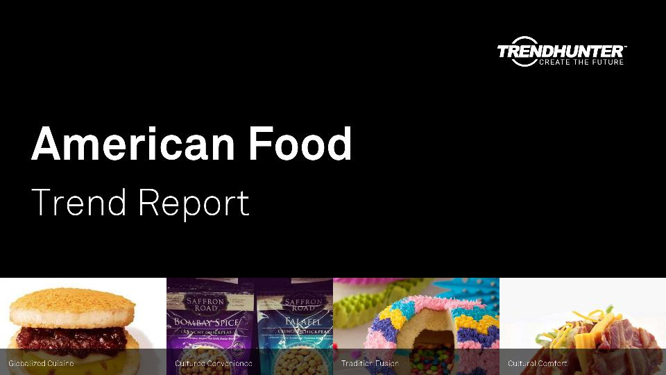American Food Trend Report Research