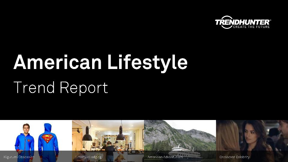 American Lifestyle Trend Report Research
