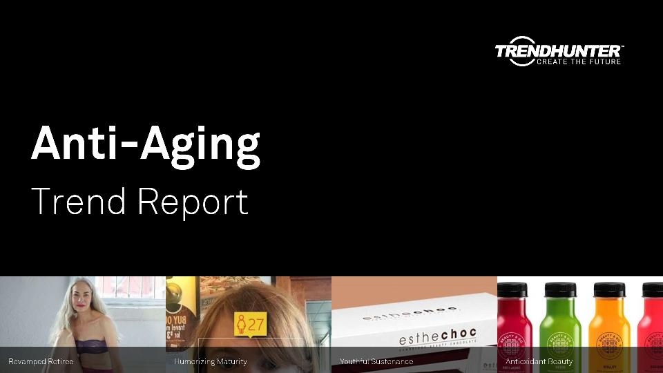 Anti-Aging Trend Report Research