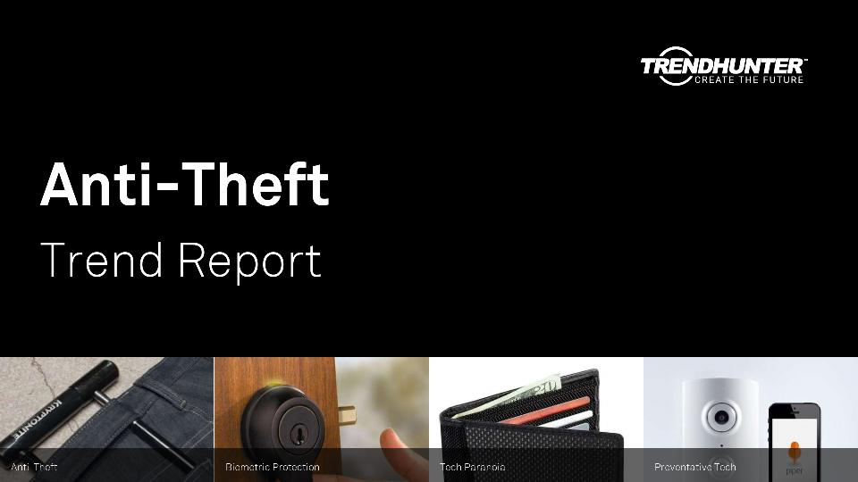 Anti-Theft Trend Report Research