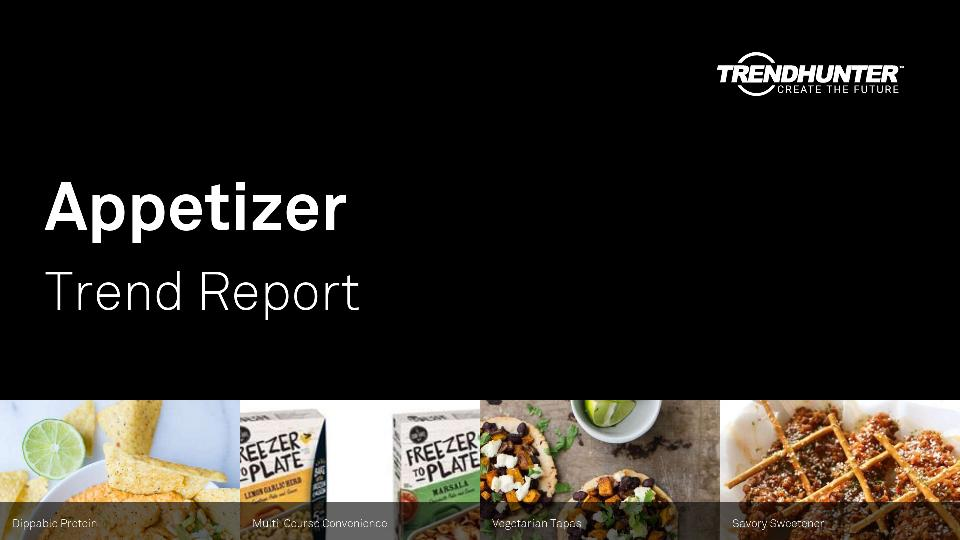 Appetizer Trend Report Research
