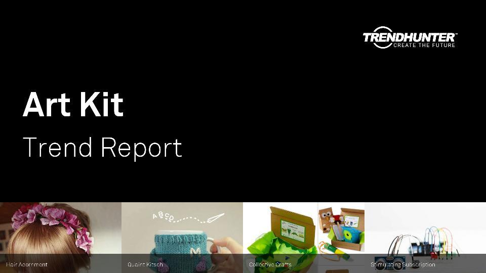 Art Kit Trend Report Research