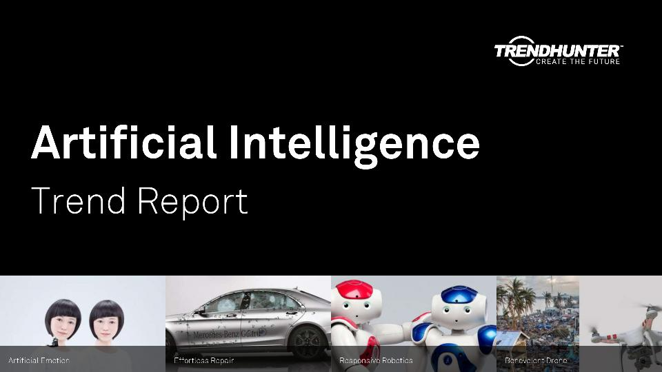 Artificial Intelligence Trend Report Research