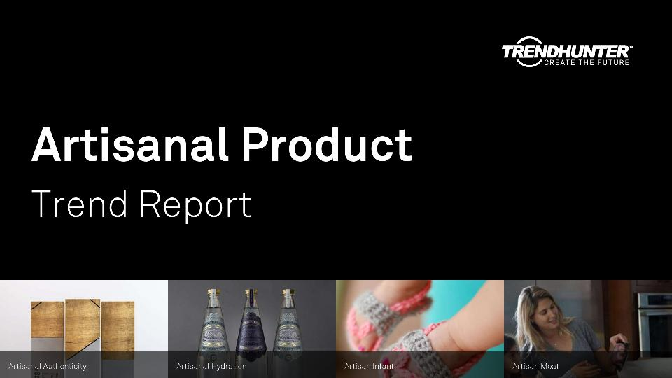 Artisanal Product Trend Report Research