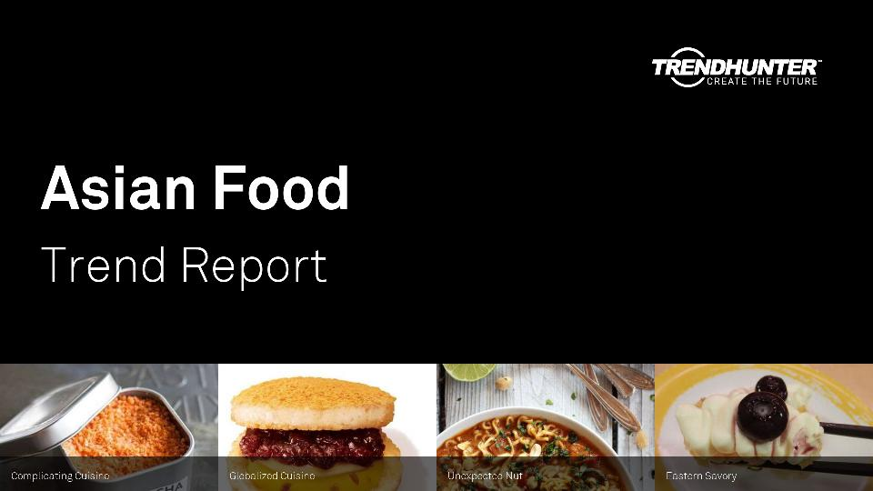 Asian Food Trend Report Research