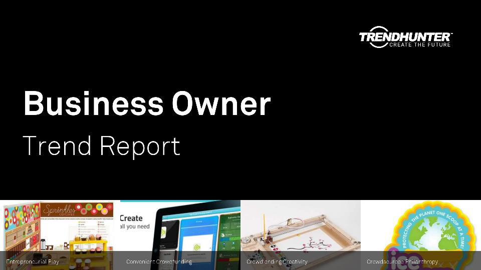Business Owner Trend Report Research