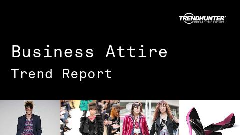 Business Attire Trend Report and Business Attire Market Research