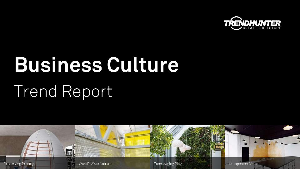 Business Culture Trend Report Research