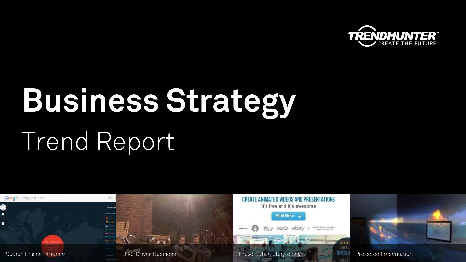Business Strategy Trend Report Research